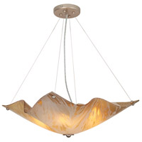 Van Teal 541350 Sarah 3 Light 19 inch Autumn Wood Chandelier Ceiling Light You Will Remember