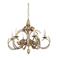 Hanna 6 Light 28 inch Tiffany Gold Chandelier Ceiling Light