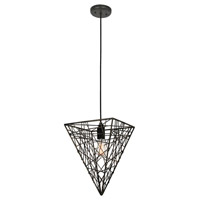 Van Teal 614150 Lower East Side 1 Light 12 inch Bronze Chandelier Ceiling Light