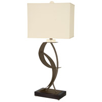 Van Teal 630672 Lady Eva 33 inch 150 watt Caramel and Matte Black Table Lamp Portable Light You Will Remember