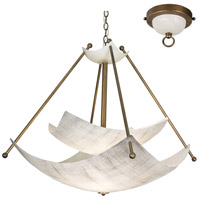 Talent 6 Light 48 inch Chestnut Chandelier Ceiling Light, Mastery