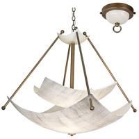 Van Teal 711850 Mastery 6 Light 48 inch Chestnut Chandelier Ceiling Light Talent