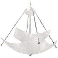 Chilled 6 Light 48 inch Chrome Chandelier Ceiling Light, The Look
