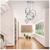Van Teal 722050 Popular 3 Light 19 inch Polished Chrome Chandelier Ceiling Light, Elite alternative photo thumbnail
