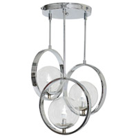 Van Teal 722050 Popular 3 Light 19 inch Polished Chrome Chandelier Ceiling Light, Elite photo thumbnail