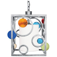 Van Teal 722250 Spinning Wheels 1 Light 10 inch Brilliant Silver Pendant Ceiling Light Free Wheeling