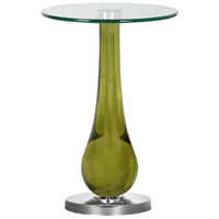 Evergreen 16 inch Chrome Accent Table Home Decor
