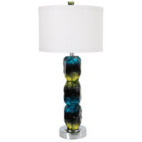 Van Teal 725372 Oceana 39 inch 60 watt Chrome Table Lamp Portable Light Natures Splendor