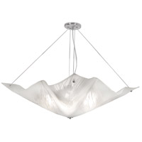 The Way 4 Light 30 inch Chrome Chandelier Ceiling Light, South Side