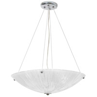 The Way 4 Light 21 inch Chrome Chandelier Ceiling Light, North Side
