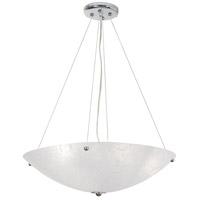 Van Teal 726750 Frigid 3 Light 21 inch Chrome Chandelier Ceiling Light Chilled