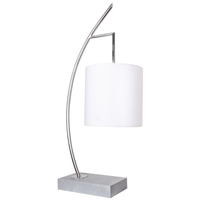 Van Teal 810372 Light Line 34 inch 75 watt Chrome Table Lamp Portable Light