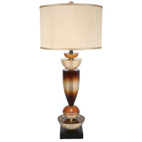 Van Teal 811272 Walk On By 35 inch 150 watt Burnt Ochre Table Lamp Portable Light