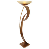 Van Teal 811681 Magic Lady 70 inch 150 watt Sienna Gold Torchiere Floor Lamp Portable Light, You Will Remember