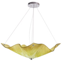 Limeflower 3 Light 19 inch Chrome Pendant Ceiling Light, Private Events