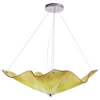 Van Teal 814650 Limeflower 3 Light 19 inch Chrome Pendant Ceiling Light Private Events