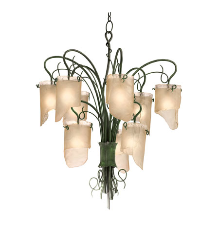 Varaluz Soho 9 Light Chandelier in Natura 126C09 photo