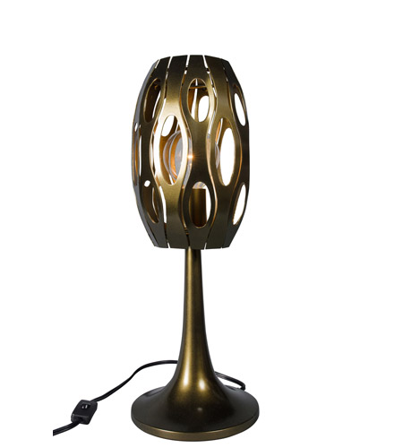Varaluz 149t01sg masquerade 20 inch 100 watt statue garden for 100 watt table lamps