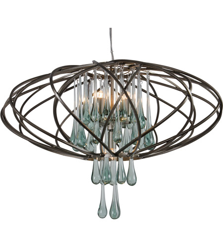 Varaluz 151C05NB Area 51 LED 24 inch New Bronze Pendant Ceiling Light photo