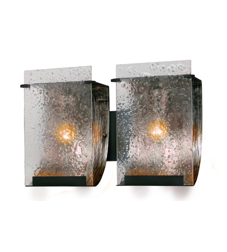 Varaluz 160B02 Rain 2 Light 15 inch Rainy Night Vanity Wall Light photo