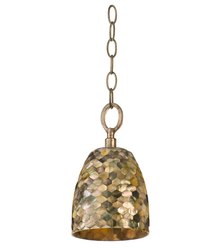 Varaluz Naturals 1 Light Mini Pendant in Terra Silver 162M01 photo
