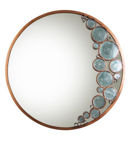Varaluz Fascination Mirror in Hammered Ore 165A01HO photo