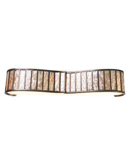 Varaluz 175B04 Affinity 4 Light 36 inch New Bronze Vanity Wall Light photo