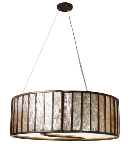 Varaluz 175P05 Affinity 5 Light 30 inch New Bronze Pendant Ceiling Light photo