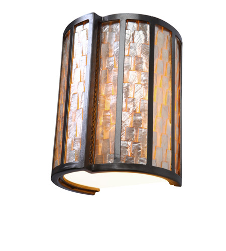 Varaluz 175W01 Affinity 1 Light 8 inch New Bronze Sconce Wall Light photo