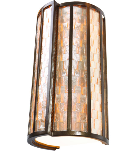 Varaluz Affinity 2 Light Sconce in New Bronze 175W02 photo