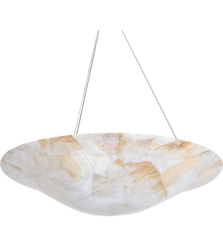 Varaluz 178P04A Big 4 Light 24 inch Chandelier Ceiling Light in Reclaimed Kabebe Shell photo