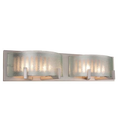 Recycled Varaluz Firefly ADA Bath Light - Four Light in Silver Metallic 191B04SM photo