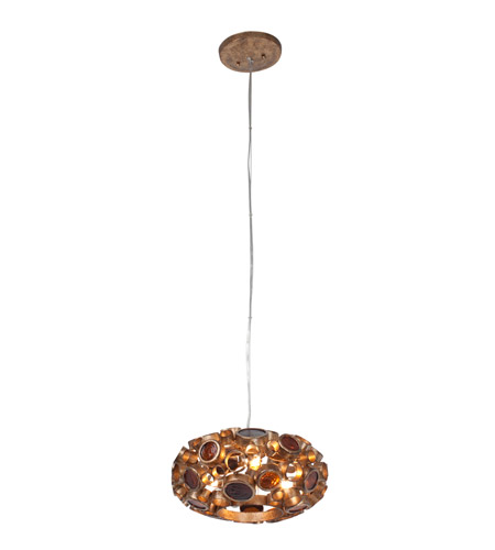 Varaluz 193C03SKO Fascination 3 Light 11 inch Kolorado Pendant Ceiling Light photo