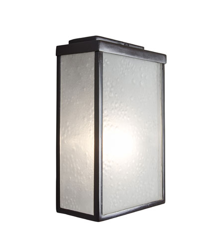 Varaluz Mission You 1 Light Small Outdoor Wall in Glossy Bronze 704S01GBF photo