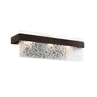Varaluz Line Up 3 Light Vanity in Forged Iron 120B03FI