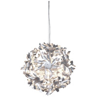 Pinwheel 3 Light 16 inch Recycled Aluminum Pendant Ceiling Light