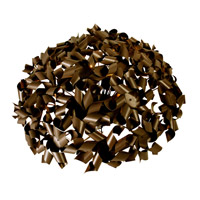 Pinwheel 8 Light 27 inch Painted Chocolate Bronze Semiflush Ceiling Light