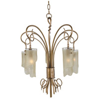 Varaluz Soho 5 Light Chandelier in Hammered Ore 126C05HO