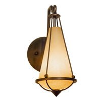 Varaluz Two-if-by-sea 1 Light Sconce in Steeplechase 143K01
