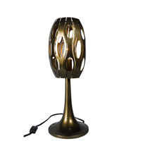Masquerade 20 inch 100 watt Statue Garden Table Lamp Portable Light
