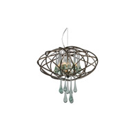 Varaluz Area 51 3 Light Pendant in New Bronze 151C03NB