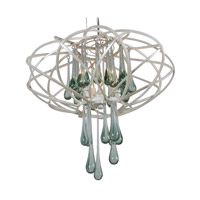 Varaluz Area 51 3 Light Pendant in Pearl 151C03PE