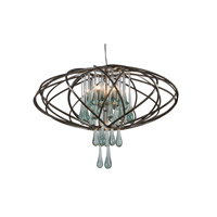 Varaluz 151C05NB Area 51 LED 24 inch New Bronze Pendant Ceiling Light alternative photo thumbnail