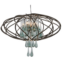 Varaluz Area 51 5 Light Pendant in New Bronze 151C05NB