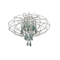 Varaluz Area 51 5 Light Pendant in Pearl 151C05PE