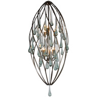 Varaluz Area 51 6 Light Foyer in New Bronze 151F06NB