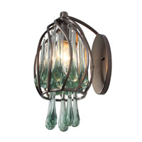 Varaluz Area 51 1 Light Sconce in New Bronze 151K01NB photo thumbnail