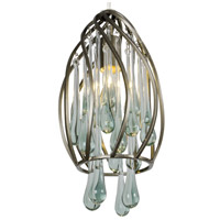 Varaluz Area 51 1 Light Mini Pendant in New Bronze 151M01NB
