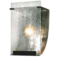 Varaluz Rain 1 Light Vanity in Rainy Night 160B01