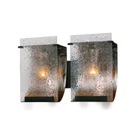 Rain 2 Light 15 inch Rainy Night Vanity Wall Light
